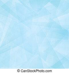 青, 抽象的, 現代, 空, 背景