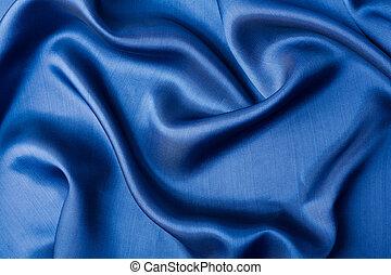 青, 抽象的, 絹, 背景