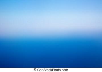 青, 抽象的, 背景, ぼんやりさせられた