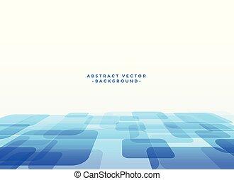 青, 抽象的, techno, slyle, 背景