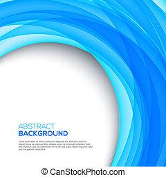 青, 明るい, 背景, 3d