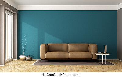 青, 暮らし, 現代, 部屋