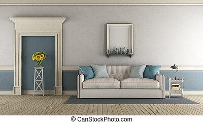 青, 暮らし, 白い部屋, クラシック