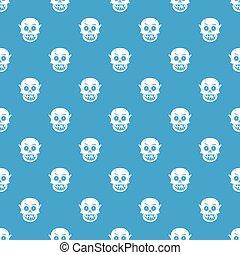 青, 暮らし, seamless, 死んだ, パターン