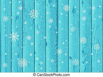 青, 木, 積雪量, 背景