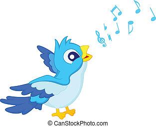 青, 歌いなさい, 漫画, 鳥