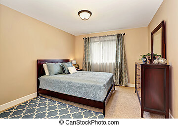 青, 浴室, セット, ブルゴーニュ, 調子, すてきである, 家具