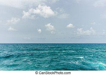 青, 海景, 抽象的, 地中海, 水, バックグラウンド。, 海