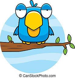 青, 漫画, 鳥