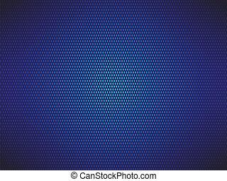 青, 点を打たれた, 背景