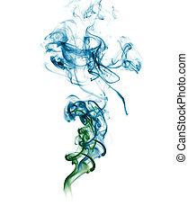 青, 煙, 緑の概要