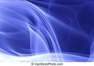 青, 煙, 背景