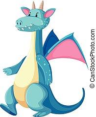 青, 特徴, ドラゴン