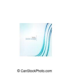 青, 白熱, 抽象的, 背景