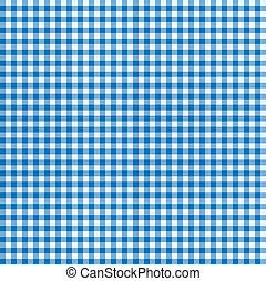 青, 白, テーブルクロス
