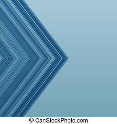 青, 矢, ベクトル, ストライプ, 背景