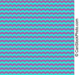 青, 紫色, seamless, 背景, 波