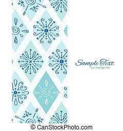 青, 縦, いたずら書き, 抽象的, seamless, ひし形, ベクトル, 背景 パターン, フレーム