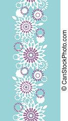 青, 縦, 紫色, パターン, 抽象的, seamless, 背景, 花