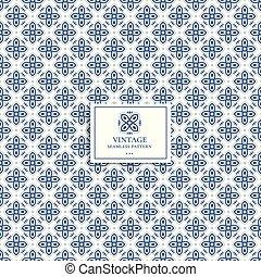 青, 織物, 偉人, (どれ・何・誰)も, 生地, ビジネス, フライヤ, pattern., vintage., カード, 包装, 切望された, idea., 壁紙, 幾何学的, 白, ∥あるいは∥, 最小である, 旗
