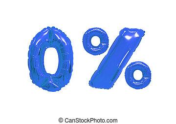 青, 色, パーセント, 暗い, ゼロ, 風船