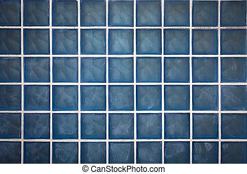 青, 色, ブロック, ガラス