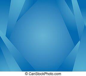 青, 色, 形, 抽象的, backgorund