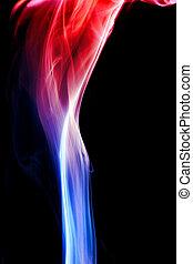 青, 赤, 煙