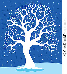 青, 1, 白, 木, 背景