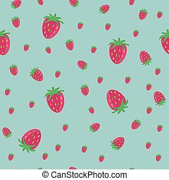 青, backgr, strawberry's, ライト