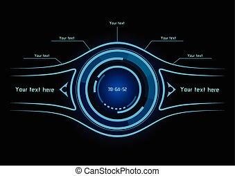 青, infographics, ∥ように∥, ヘッドアップ表示器