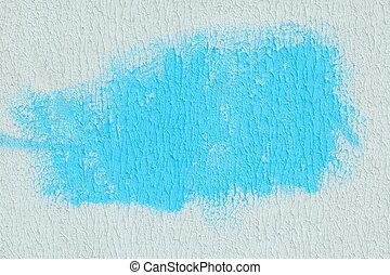 青, paper., スポット, 背景, textured, 白, 抽象的