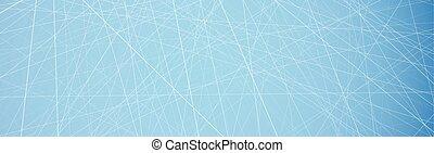 青, pattern., 抽象的, 旗, 氷