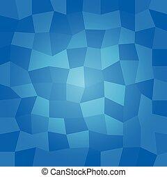青, polygonal, ベクトル, 背景
