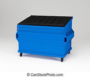 青, trashbox.