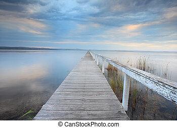 静穏, オーストラリア, 突堤, 長い間