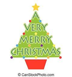 非常に, クリスマス, 陽気