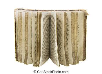 非常に, 白, 聖書, 古い, 背景