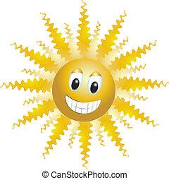 面白い, 太陽