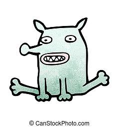 面白い, 漫画, 犬
