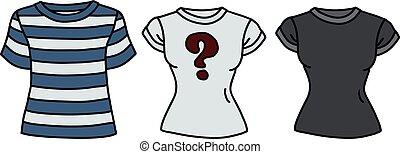 面白い, 3, シャツ