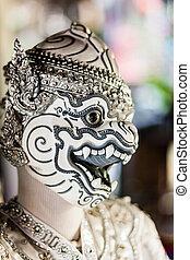 面罩,  khon