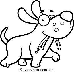 革ひも, 漫画, 犬
