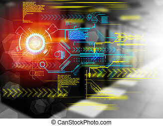 革新, 技術, 為, 事務