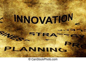 革新, 概念, グランジ