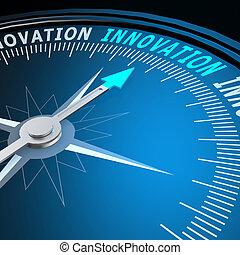 革新, 詞, 指南針