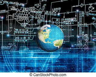 革新, 連接, 技術
