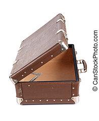 革, 型, スーツケース