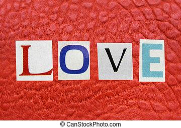 革, 愛, 概念, 単語, 背景