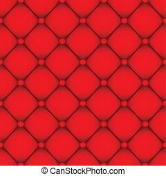 革, 赤い背景